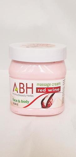 Red Wine Massage Cream
