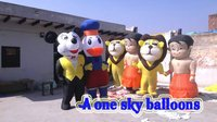 Character Walking Inflatable Balloons
