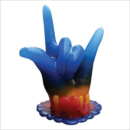 Wax Hand Corporate Gift