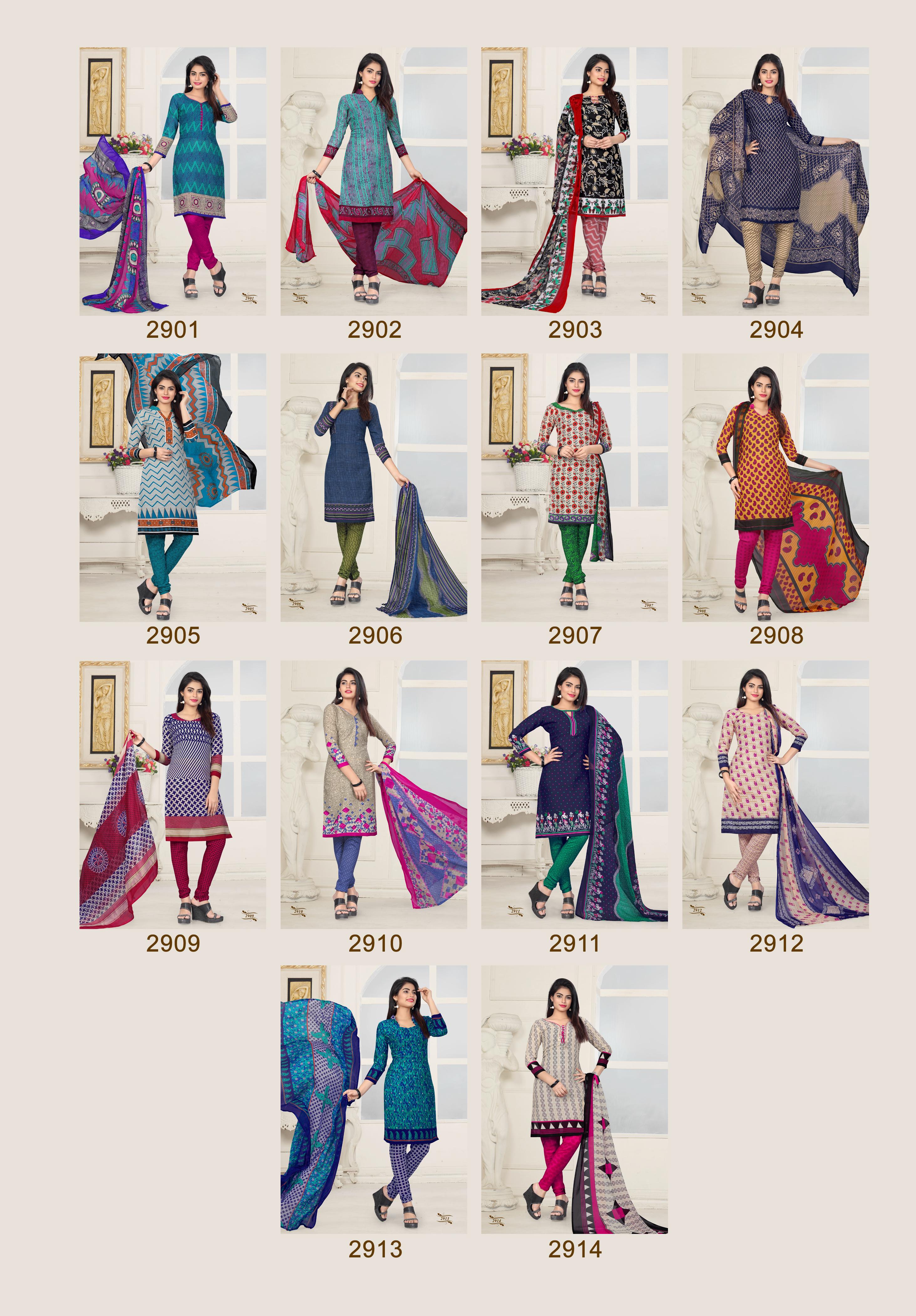 sethnic cotton low range dress material catalogs