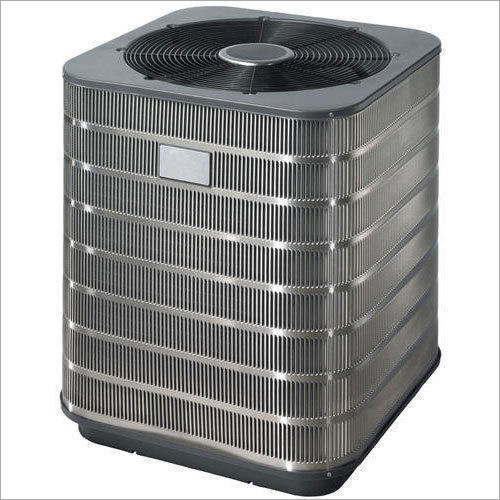 Silver And Grey Central Air Conditioner