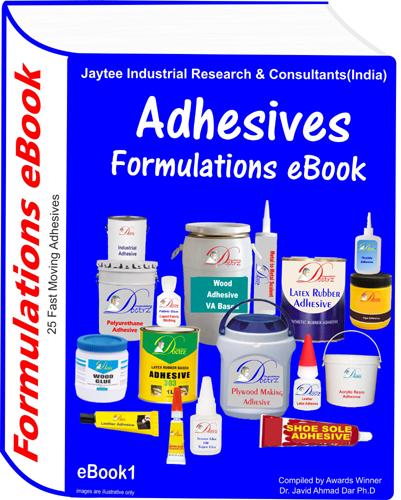 Adhesives manufacturing formulation eBook 1