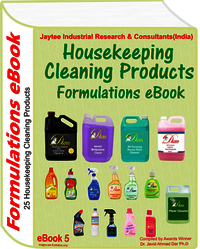 Housekeeping Cleaning Product Manufacturing Formulations eBook