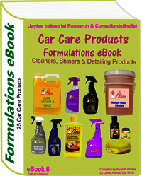 Car Care Products Manufacturing Formulations eBook (eBook6)