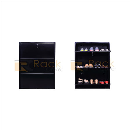 Three Rack Shoe Box