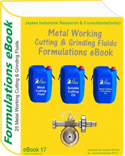 Metal Working Fluids Manufacturing Formulations eBook(eBook17)