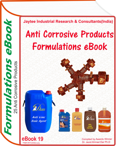 AntiCorrosive Products Manufacturing Formulations eBook(eBook19)