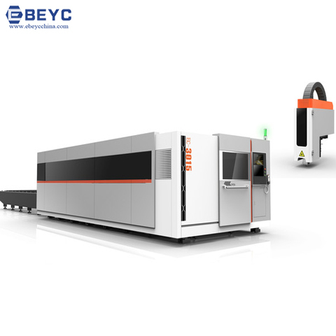 Full Enclosed Auto-exchange Fiber Laser Cutting Machine