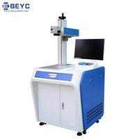 Standing Fiber Laser Marking Machine