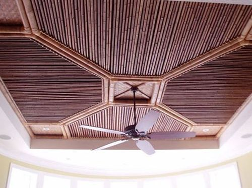 Bamboo False Ceiling
