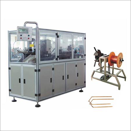 Flat Wire Automatic Shaping Machine