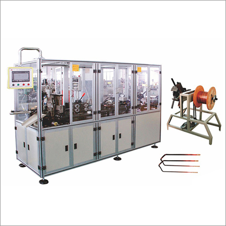 Flat Wire Shaping And Stripping Machine