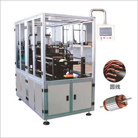 Armature Round Wire Head Turning Machine