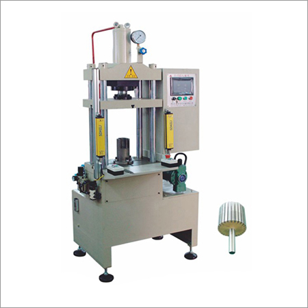 Rotor Shaft Inserting Pressing Machine