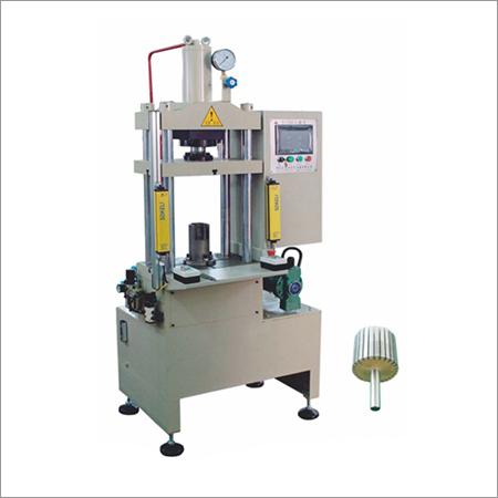 Rotor Shaft Inserting Pressing Machine