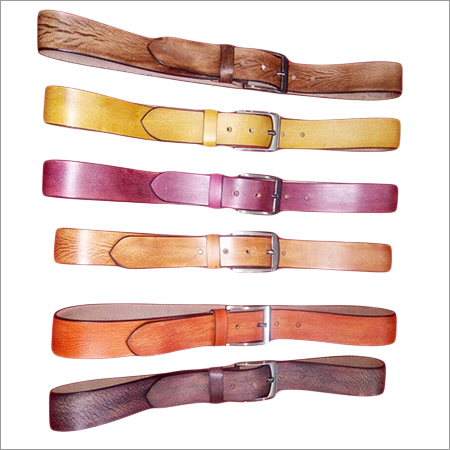 Leather colorful Belt