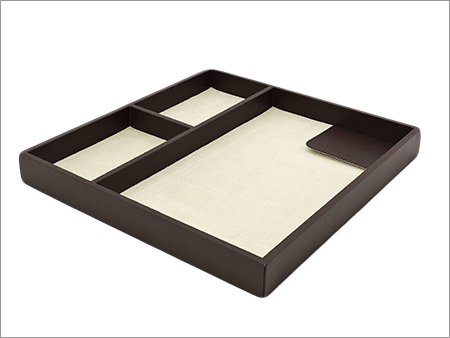 Leather Amenity Tray