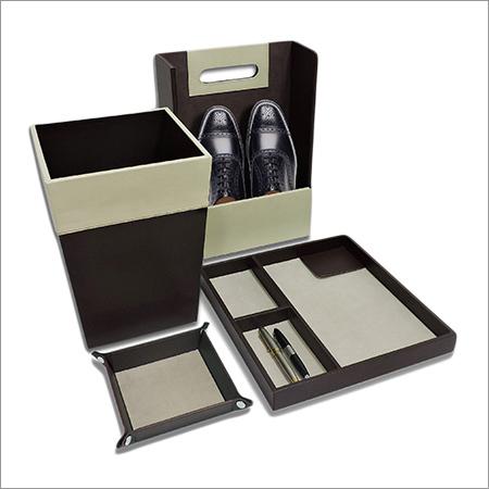 Office Desk Leather set