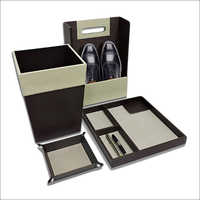 Office Desk Leather set