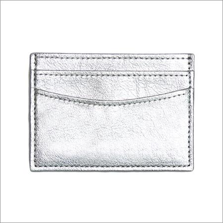 Silver ATM Cardholder