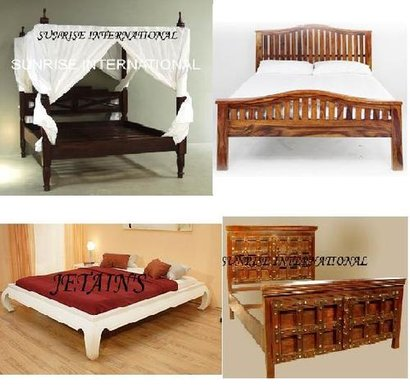Wooden Bedroom Furniture Dimensions: Customisation Available Perch