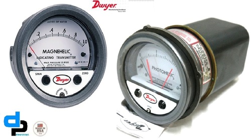Dwyer 3000MR-00 Photohelic Differential Pressure Switch/Gauge