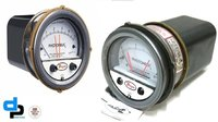 Dwyer 3001MR Photohelic Differential Pressure Switch/Gauge Range: 0-1