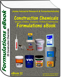 Construction Chemicals Manufacturing Formulations eBook (eBook22)