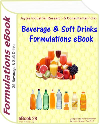 Beverage & Soft Drink Manufacturing Formulations eBook(eBook28)
