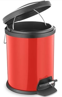 steel dustbin with lid