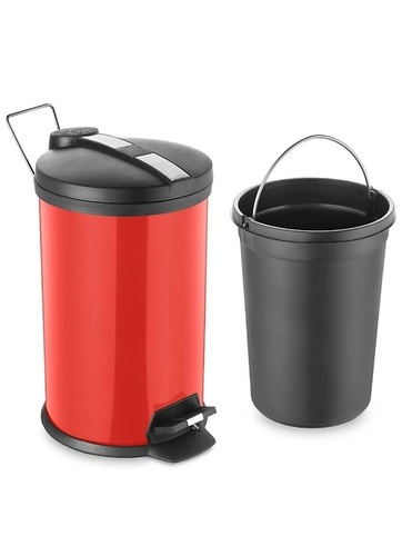 Stainless Steel Perforated Dustbins With Lid