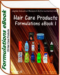 Hair Care Products Manufacturing Formulations eBook (eBook35)
