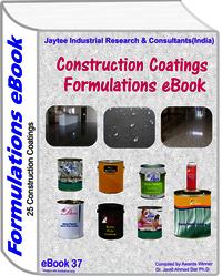 Construction Coatings Manufacturing Formulations eBook(eBook37)