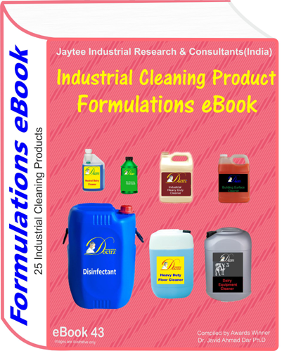 Industrial Cleaning Product Formulations eBook (eBook43)