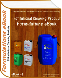 Housekeeping and Cleaning Product Formulations eBook(eBook44)