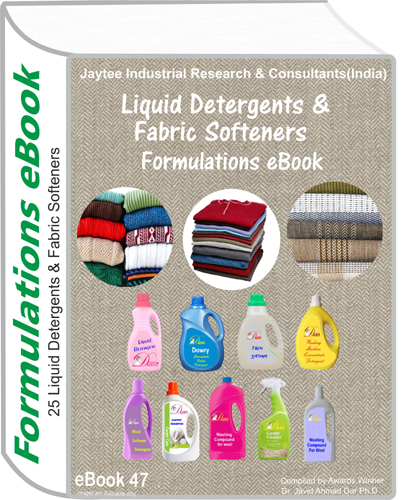 Liquid Detergent Manufacturing Formula eBooks