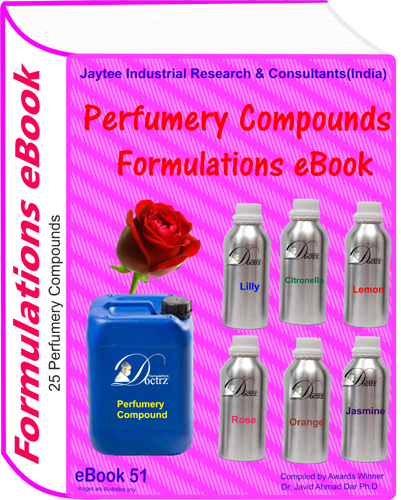 Perfumery Compounds Formulations eBook (eBook51)