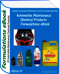 Automobile Maintenance Chemical Formulations eBook (eBook52)