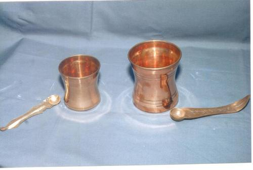 COPPER PANCHA PATHIRAM AND UTHIRANI