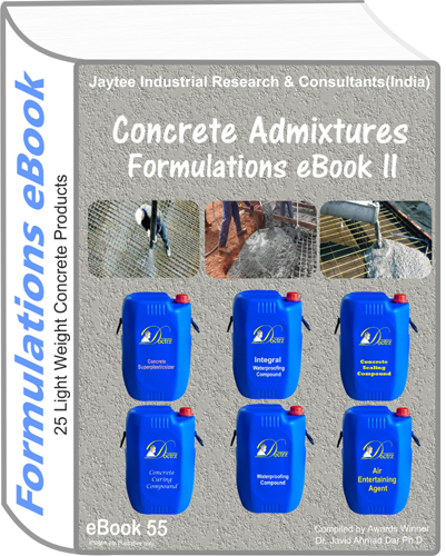 Concrete Admixtures Formulations eBook II (eBook 55)