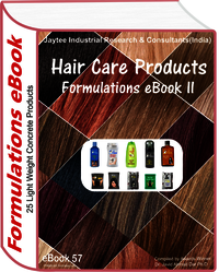 Hair Care Products Manufacturing Formulations eBook (eBook57)