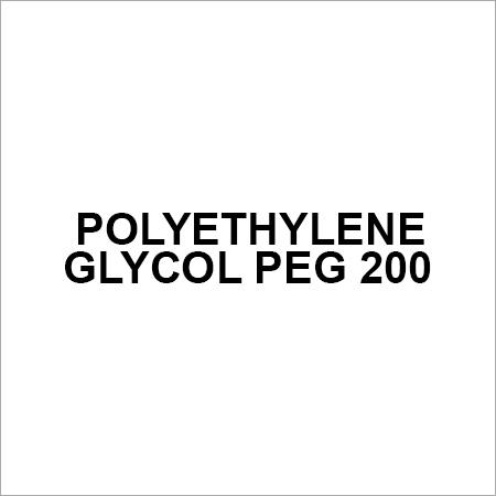 Polyethylene Glycol PEG 200