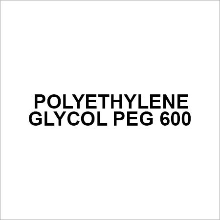 Polyethylene Glycol PEG 600