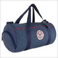 Indigo Barrel Bag