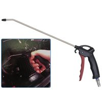 FIT TOOLS Air Duster Blow Gun with 300mm Fixed Nozzle