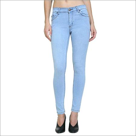 471f867ca8e Ladies Denim Jeans - SKM FABRIC