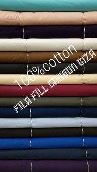 Shirting Cotton FilaFil Carbon Giza Fabric  58''