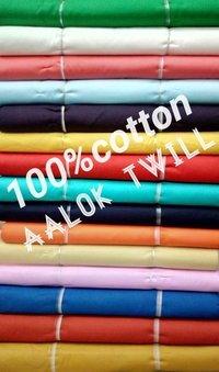 Shirting Cotton Alok Twill Fabric 58