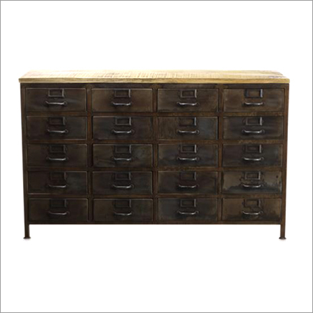 Iron File Cabinet