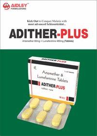 Artemether 80mg + Lumefentrine 480mg Tablets